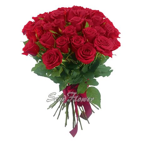 Букет из красных роз (80 см.)