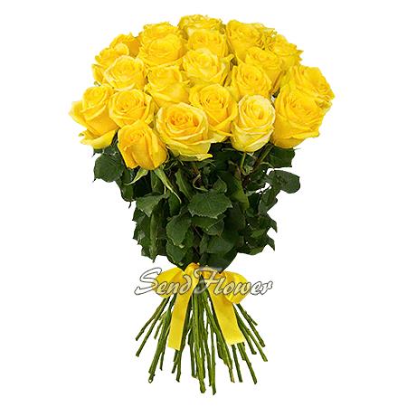 Букет из желтых роз (60 см.)